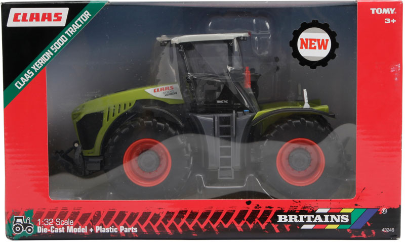Wholesalers of Britains Claas Xerion 5000 Tractor toys
