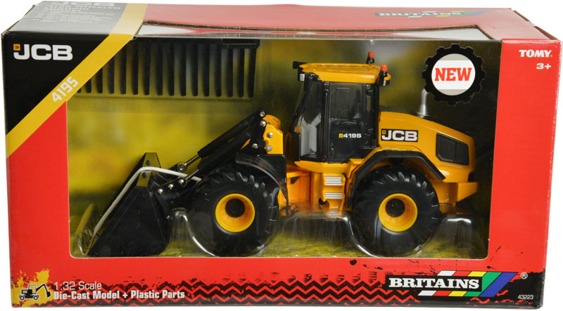 Wholesalers of Britains Jcb 419s Wheeled Loading Shoval toys