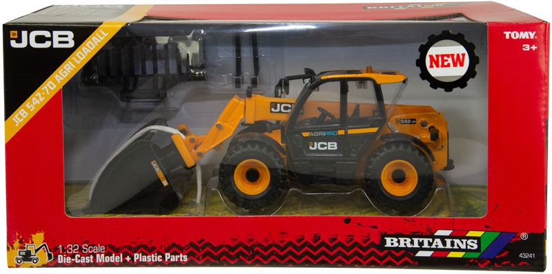 Wholesalers of Britains Jcb 542-70 Loadall toys