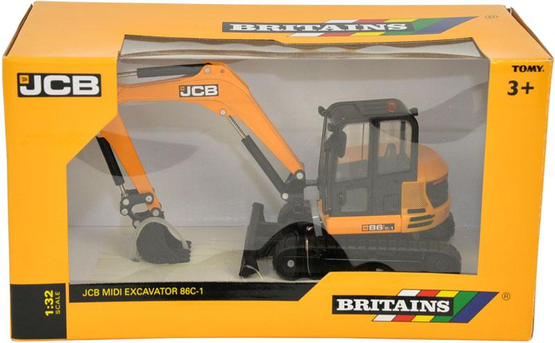 Wholesalers of Britains Jcb 86c-1 Midi Excavator toys