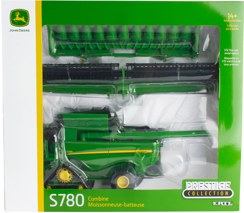 Wholesalers of Britains John Deere S780 Tracked Combine toys