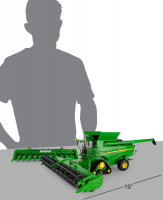 Wholesalers of Britains John Deere S780 Tracked Combine toys image 3