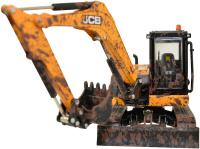 Wholesalers of Britains Muddy Jcb Midi Excavator toys image