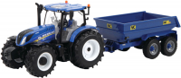 Wholesalers of Britains New Holland T6 Tractor With Trailer Play Set toys image 3