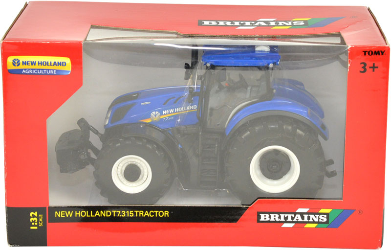 Wholesalers of Britains New Holland T7.315 Tractor toys