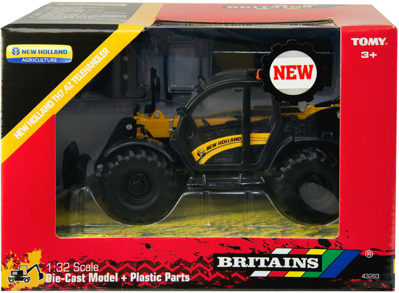 Wholesalers of Britains New Holland Th Telehandler toys