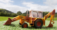Wholesalers of Britains Weathered Jcb 3c Mark Iii toys image 2