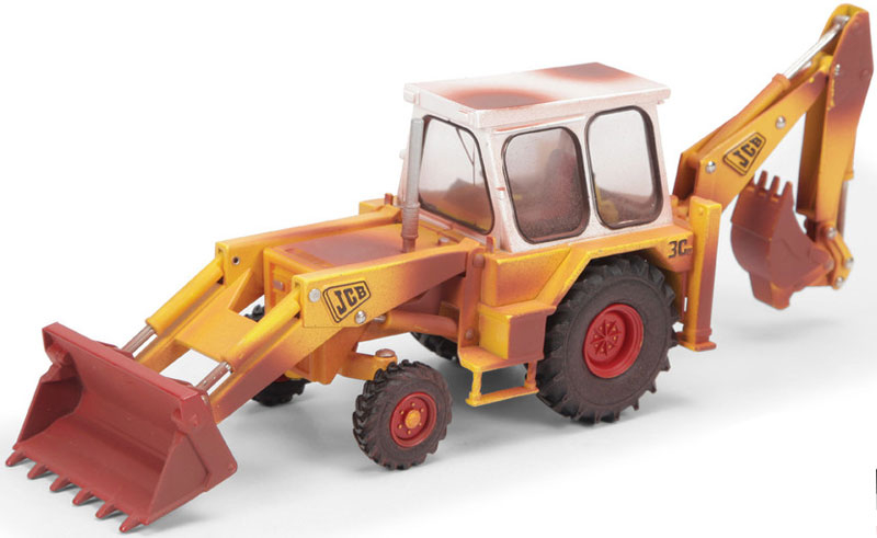 Wholesalers of Britains Weathered Jcb 3c Mark Iii toys