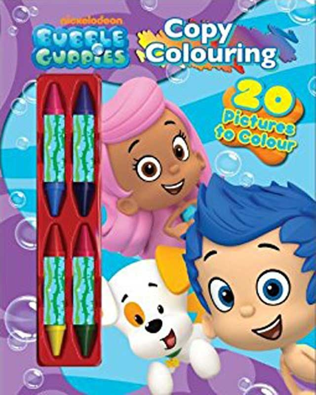 Wholesalers of Bubble Guppies Copy Colouring toys