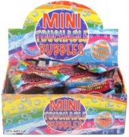 Wholesalers of Bubble Mini Touchable 3ml 5cm 5 Asst toys image 2
