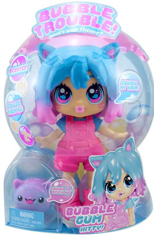 Wholesalers of Bubble Trouble Doll - Bubble Gum Kitty toys