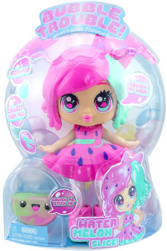Wholesalers of Bubble Trouble Doll - Watermelon Slice toys