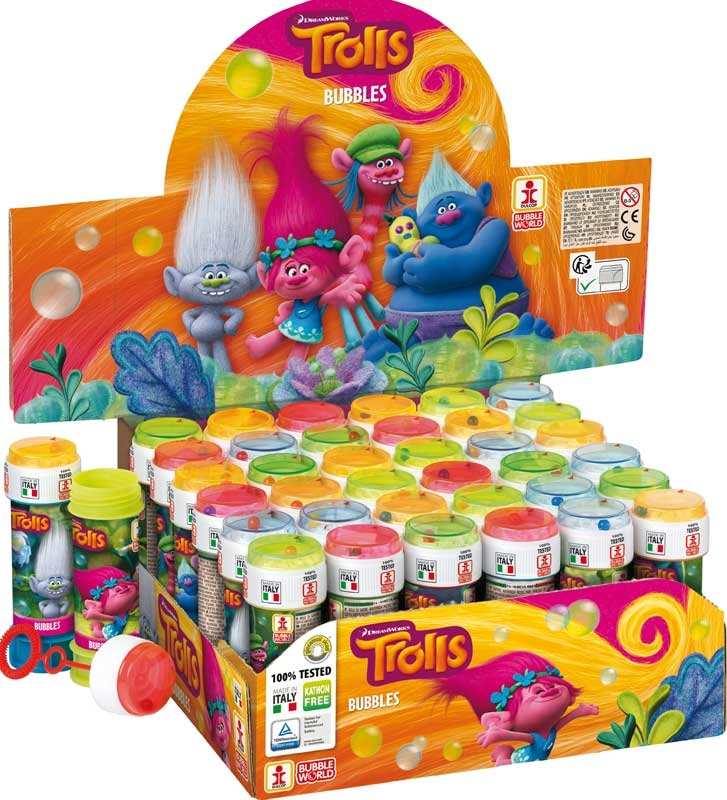 Wholesalers of Bubble Tubs - Trolls toys