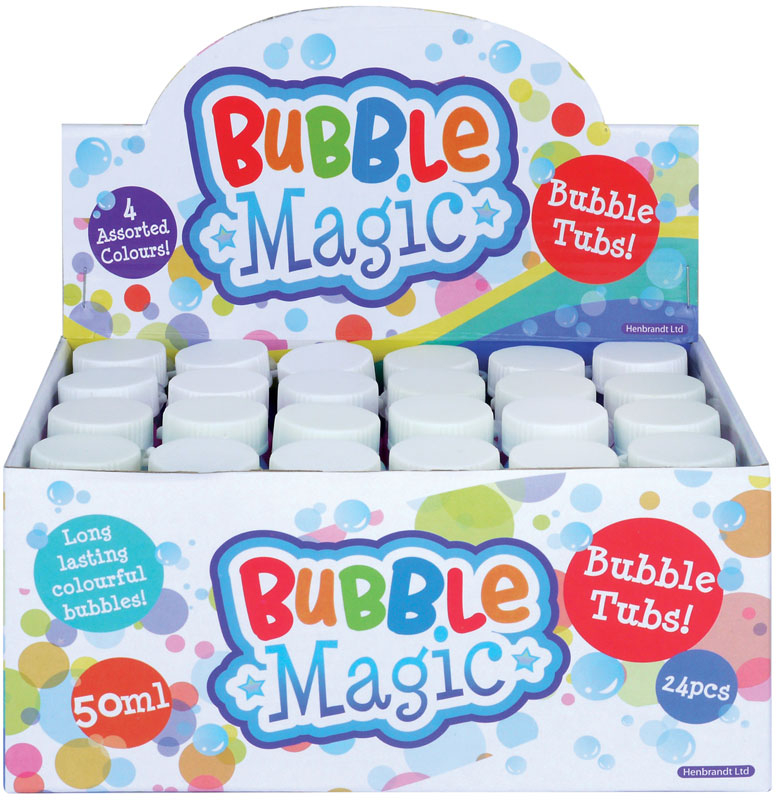 Wholesalers of Bubble Tubs Bubble Magic With Wand 50ml toys