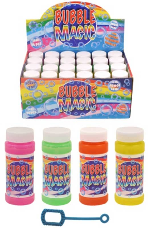 Wholesalers of Bubble Tubs Bubble Magic With Wand 60ml toys