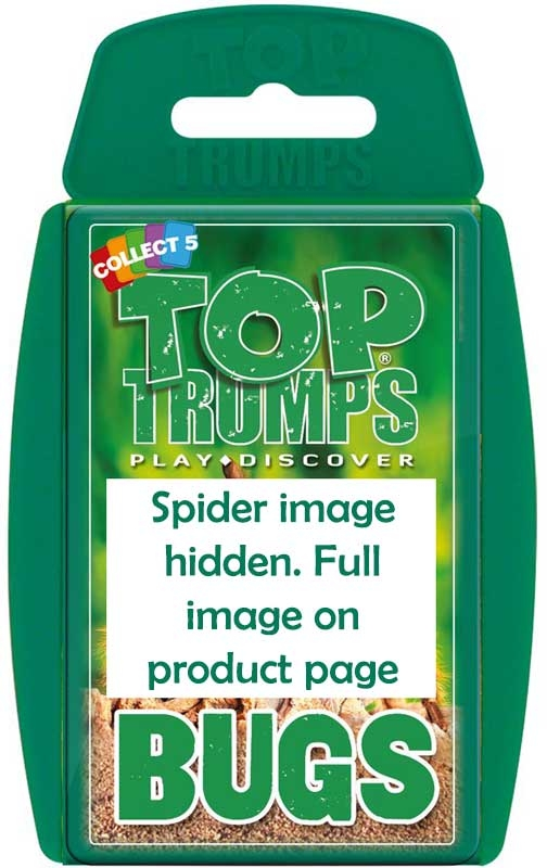 Wholesalers of Top Trumps - Bugs toys