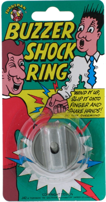 Wholesalers of Buzzer Shock Ring toys