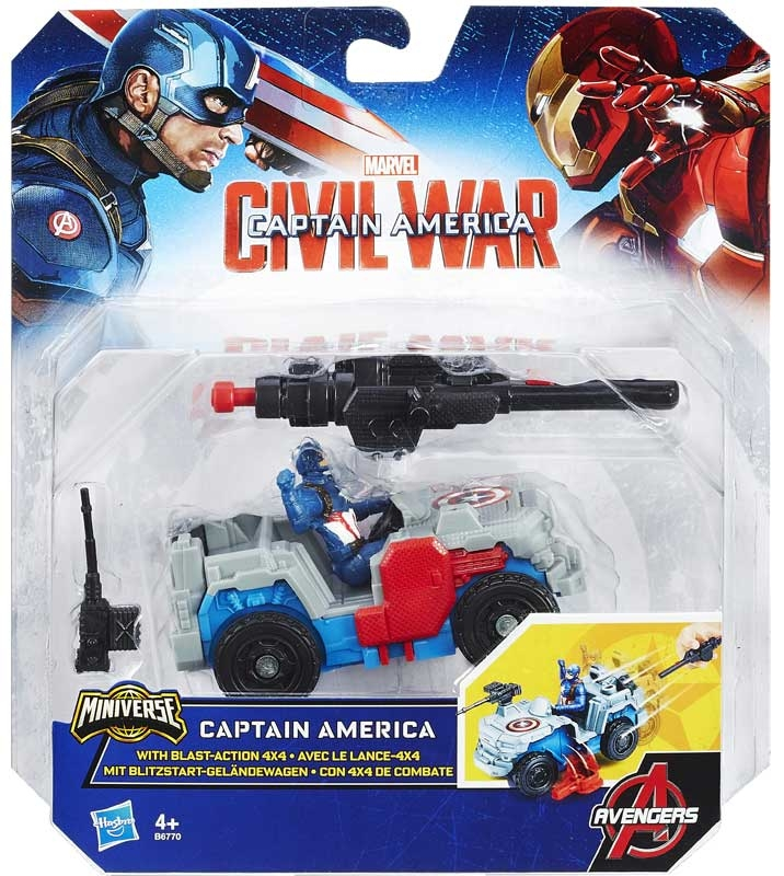Wholesalers of Captain America 2.5 Inch Combat Racer Asst toys