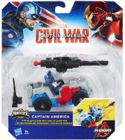 Wholesalers of Captain America 2.5 Inch Combat Racer Asst toys Tmb