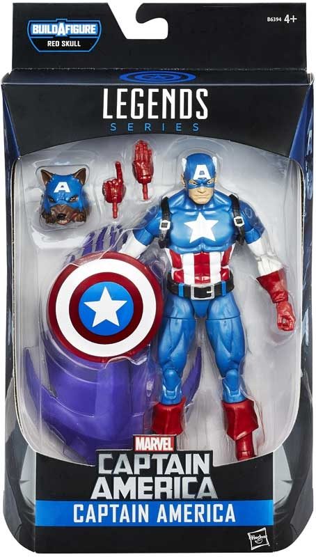 Wholesalers of Captain America 6 Inch Legends Asst toys