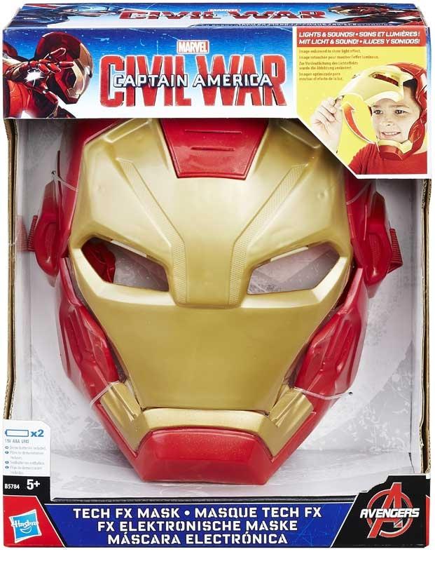 Wholesalers of Captain America Civil War Tech Fx Mask toys