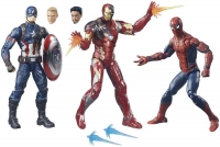Wholesalers of Captain America Cw 6inch Legends Series 3 Pack toys image 2