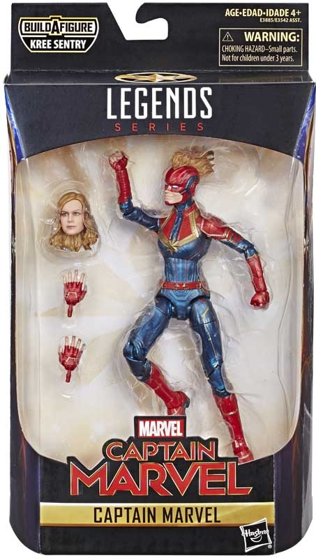 Wholesalers of Marvel 6 Inch Legends Captain Marvel toys