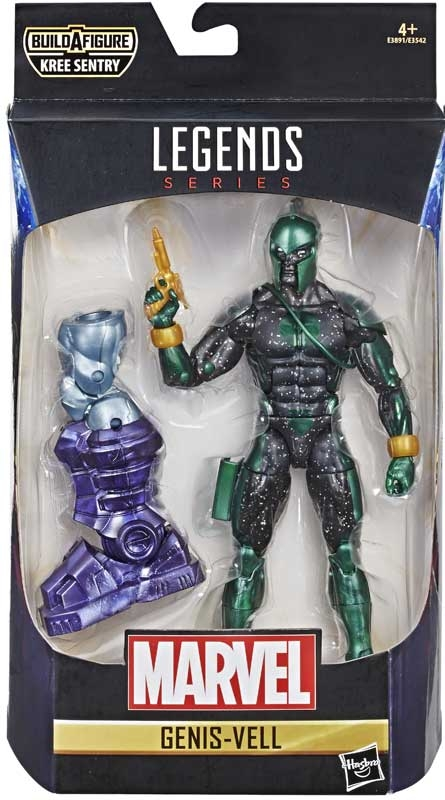 Wholesalers of Captain Marvel 6 In Legends Genis-vell toys