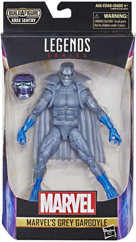 Wholesalers of Captain Marvel 6 In Legends Grey Gargoyle toys