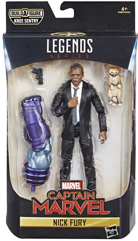 Wholesalers of Captain Marvel 6 In Legends Nick Fury toys