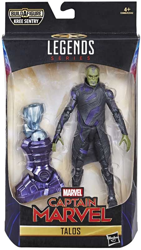 Wholesalers of Captain Marvel 6 In Legends Talos toys