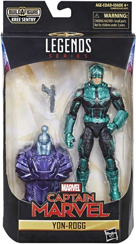 Wholesalers of Captain Marvel 6 In Legends Yon-rogg toys