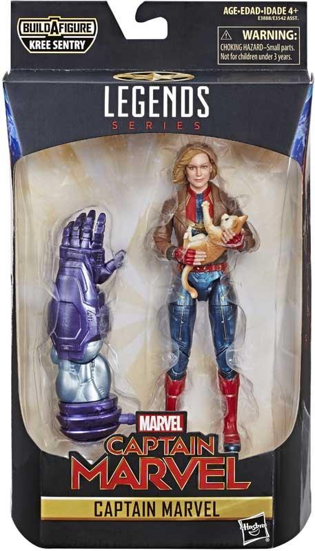 Wholesalers of Captain Marvel 6in Legends Captain Marvel toys