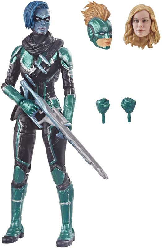 Wholesalers of Captain Marvel 6in Legends Sycamore Silver toys