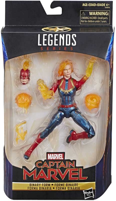 Wholesalers of Captain Marvel 6in Legends Weaponized Sycamore toys