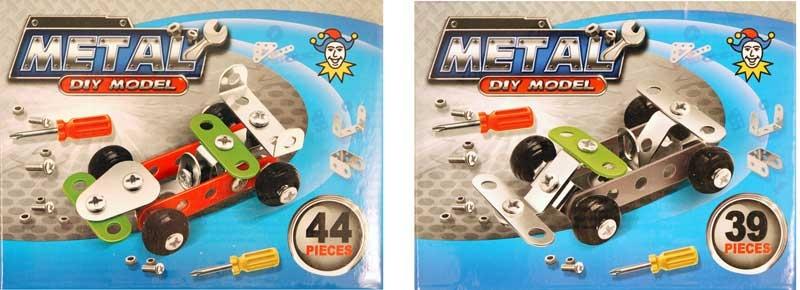 Wholesalers of Car Diy Metal Kit toys