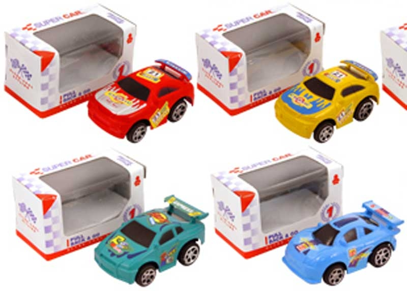 Wholesalers of Car Pull Back Racing 6cm toys