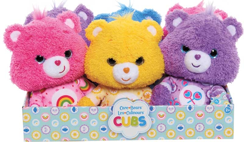 Wholesalers of Care Bear Cubs Plush Asst toys