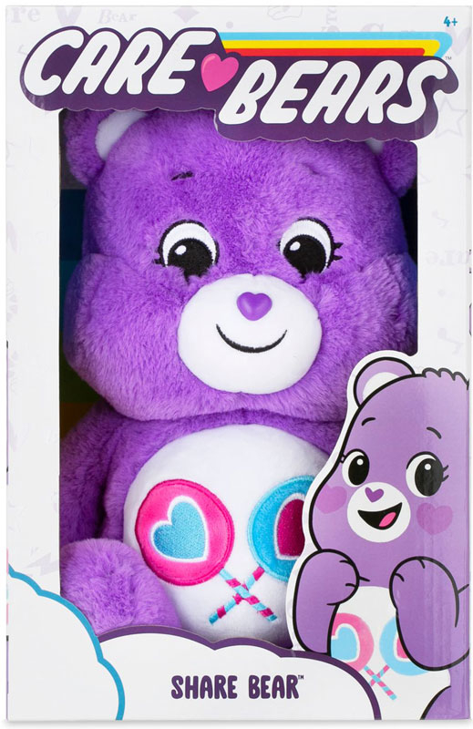 Wholesalers of Care Bears 14 Inch - Share Bear toys