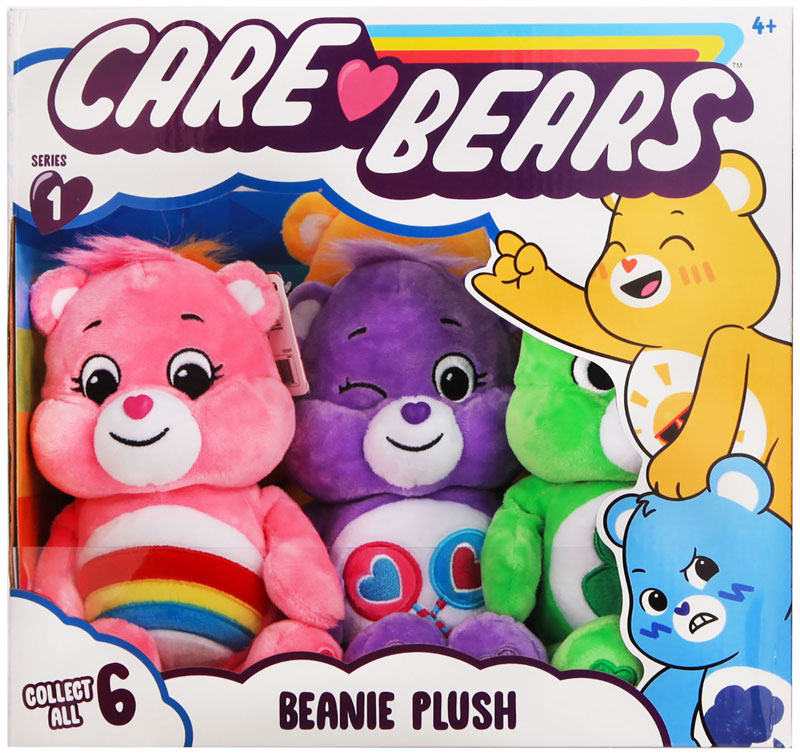 Wholesalers of Care Bears 9 Inch Bean Plush toys