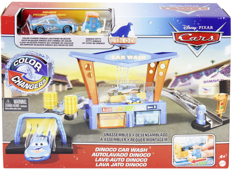 Wholesalers of Cars Colour Change Dinoco Car Wash toys