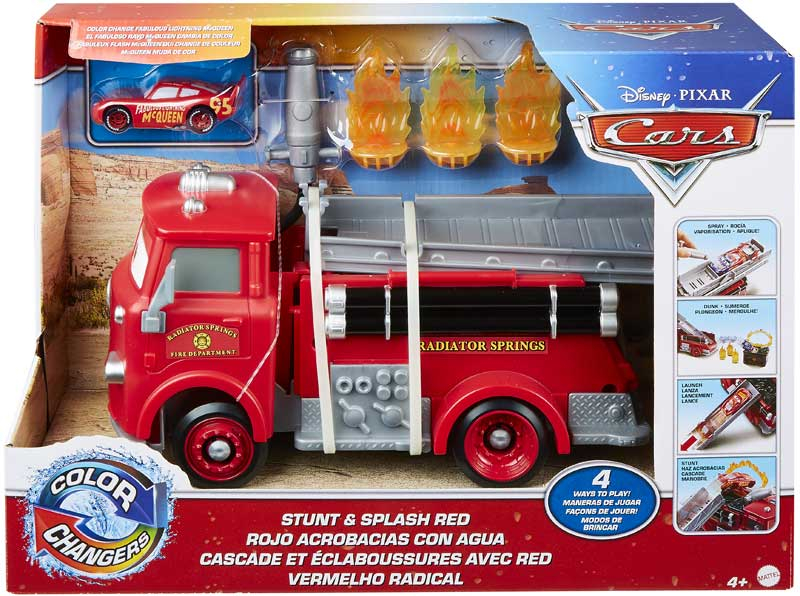 Wholesalers of Cars Colour Change Red Fire Truck toys