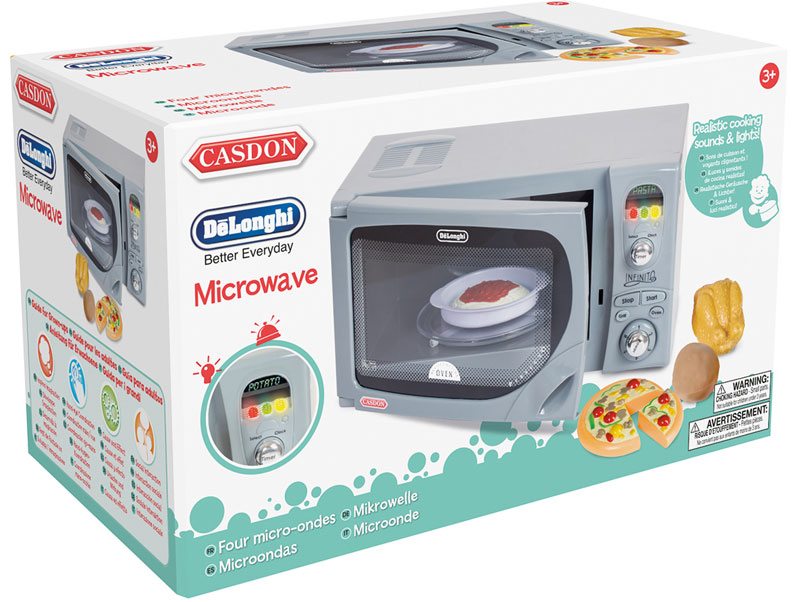 Wholesalers of Casdon Delonghi Microwave toys