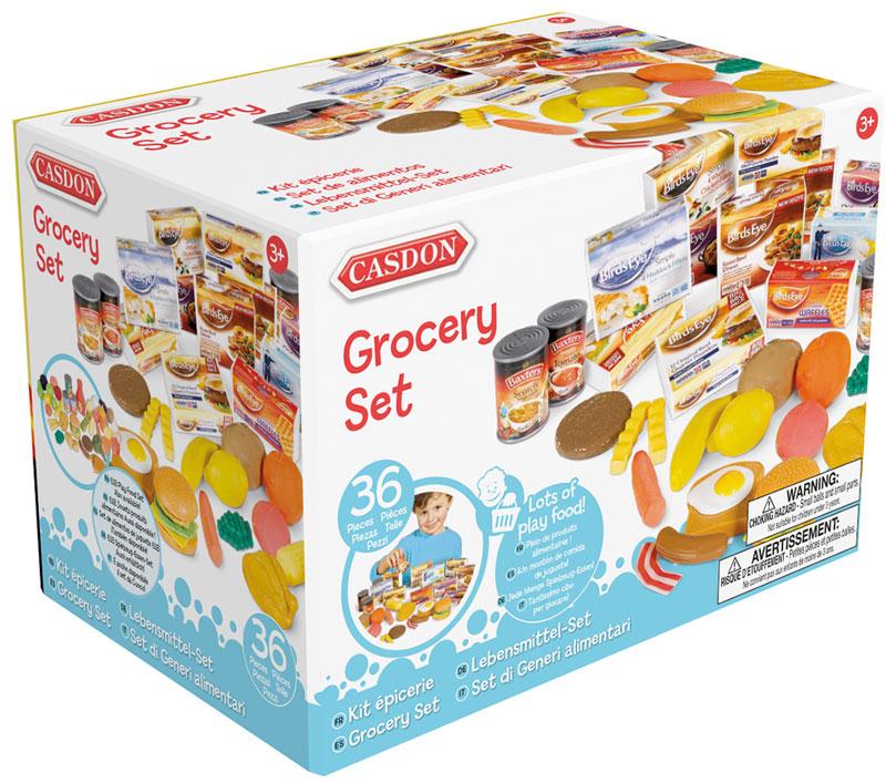 Wholesalers of Casdon Grocery Set toys