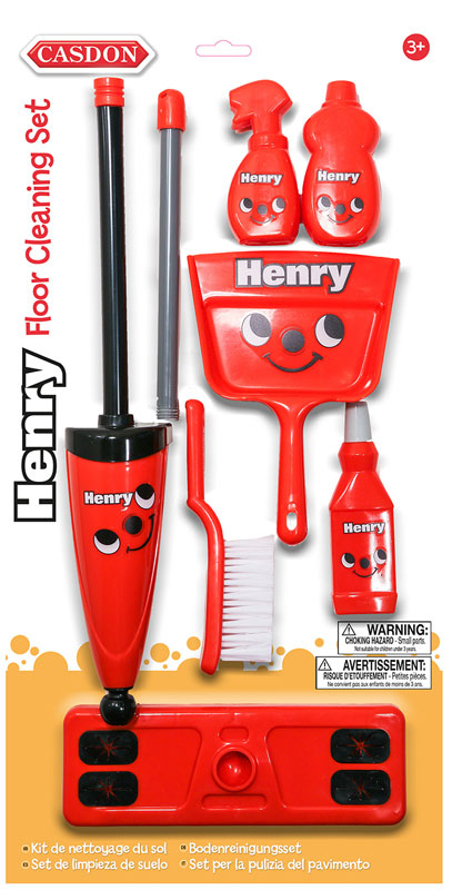 Wholesalers of Casdon Henry Floor Cleaning Set toys