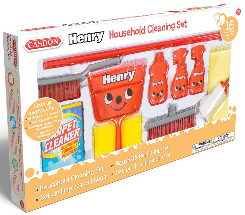 Wholesalers of Casdon Henry Household Cleaning Set toys