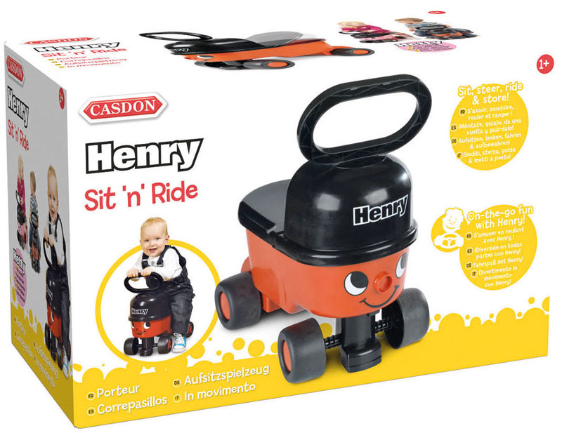 Wholesalers of Casdon Henry Sit N Ride toys