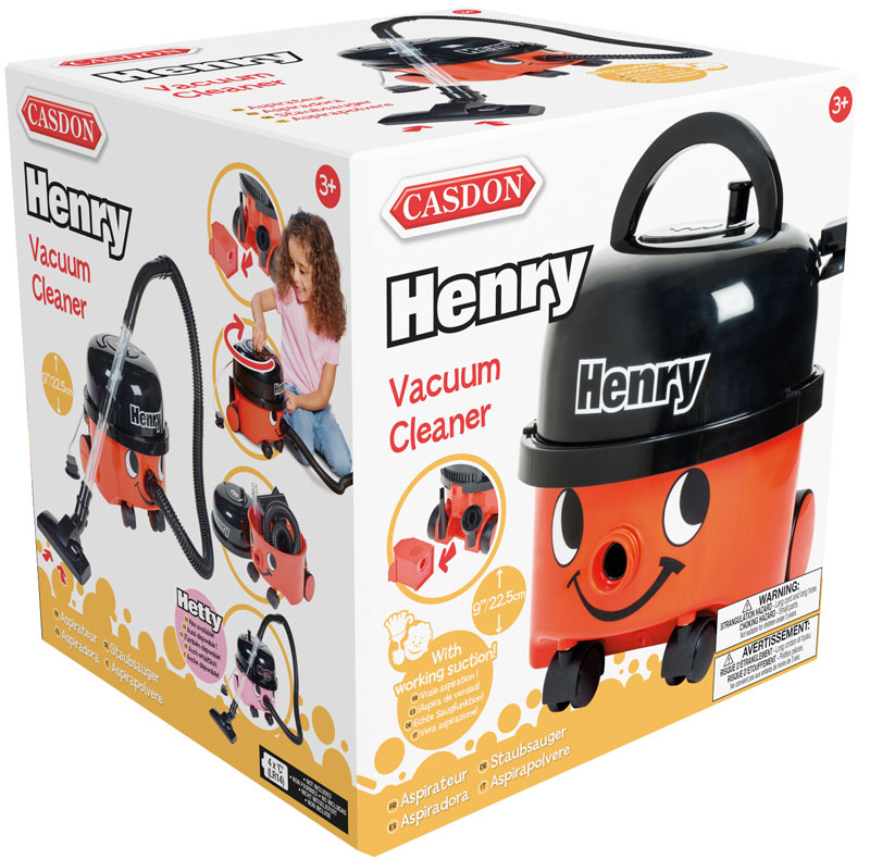 Wholesalers of Casdon Henry Vacuum Cleaner toys