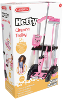 Wholesalers of Casdon Hetty Cleaning Trolley toys image