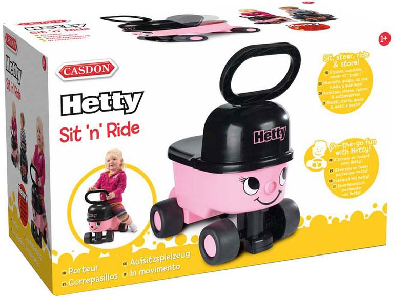 Wholesalers of Casdon Hetty Sit N Ride toys